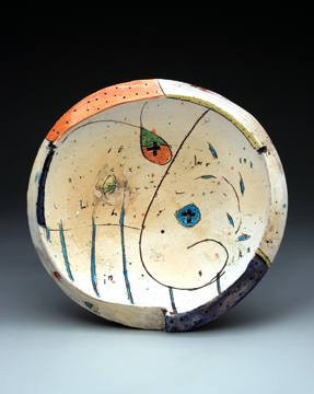 Bowl(#5)13x14x3.earthenware