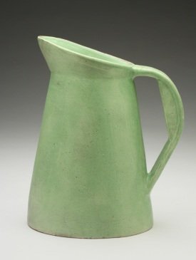 Pitcher, 8x4x10, earthenware